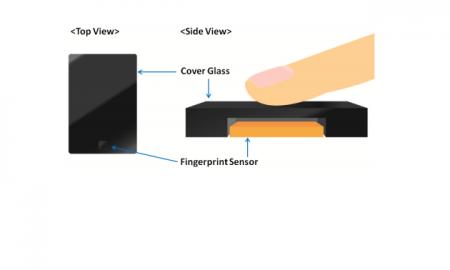 fingerprint cover glass