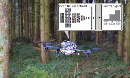 drone following trail