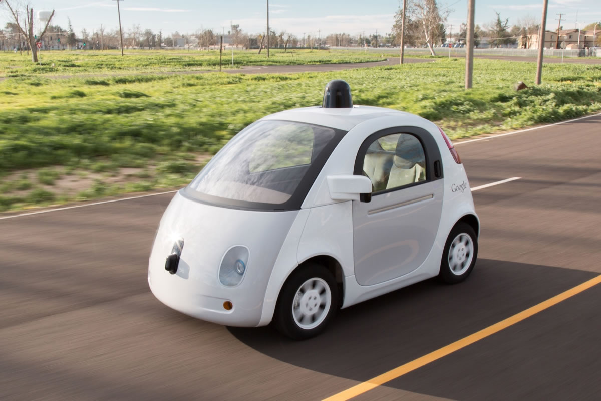 google prototype driverless car