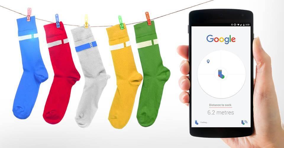 google-sock-april-fools