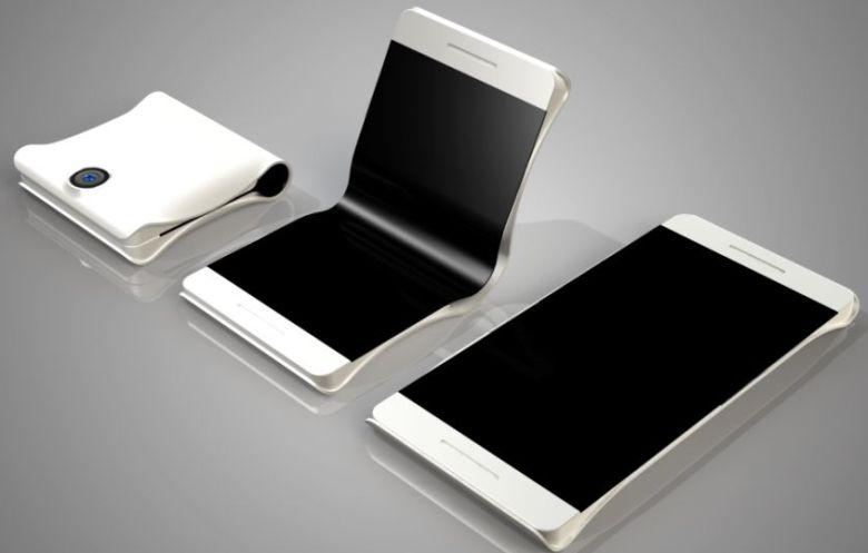 Foldable phone concept