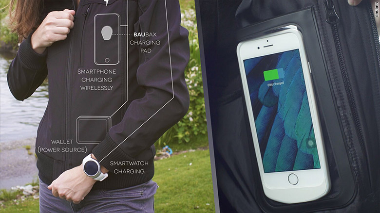 charging jacket iphone