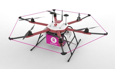 rakuten-delivery-food-drone