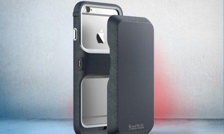 sandisk iphone case
