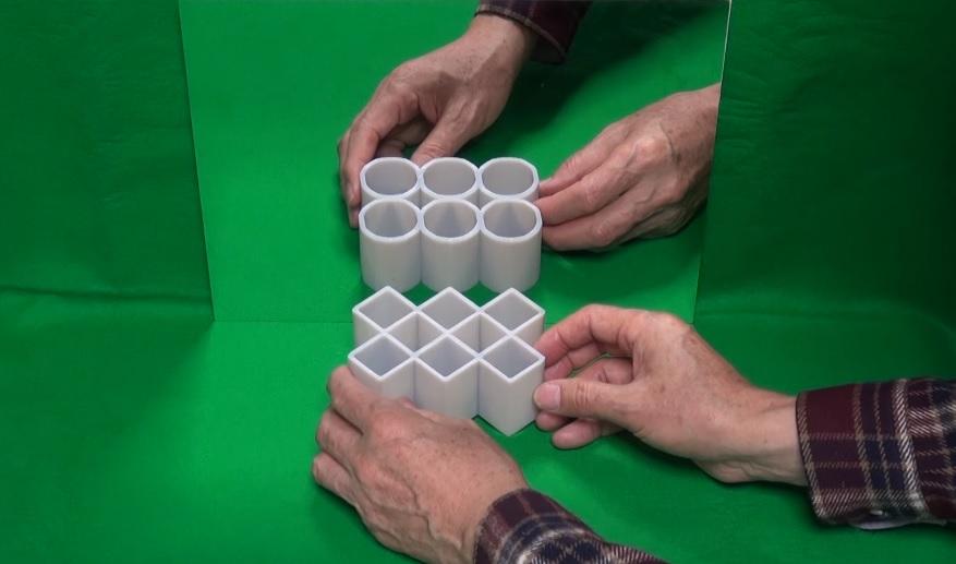 cylinders illusion 2016