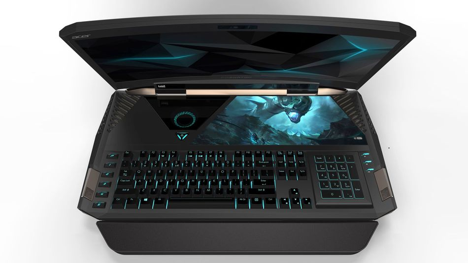 Acer Gaming Laptop Curved Screen