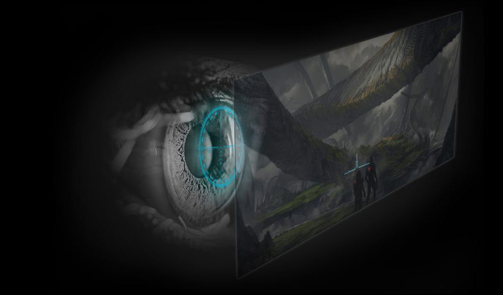 Acer Predator 21x eye tracking