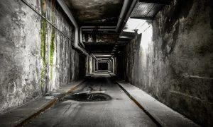 Horror AR corridor