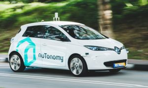 Nutonomy driverless car
