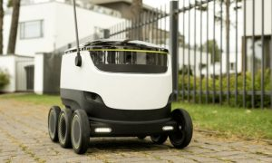 swiss post delivery robot
