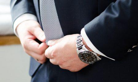 wrist watch with round display