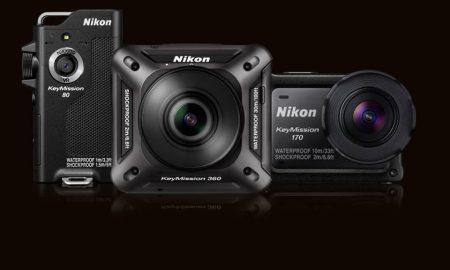 Nikon action cameras