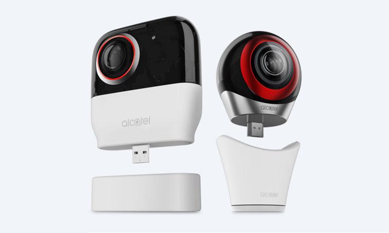 Alcaltel 360 camera
