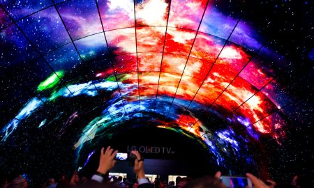 LG Oled Display Tunnel