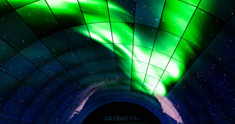 LG OLED Tunnel Ifa