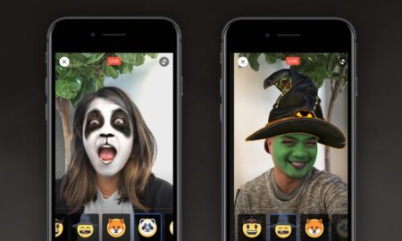Facebook AR masks