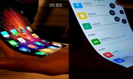 Bendable Xiaomi display