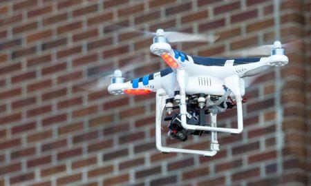 drones flying windows