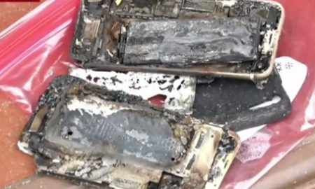 iPhone 7 explodes