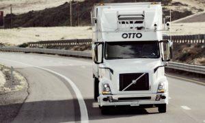 Otto Uber driverless truck
