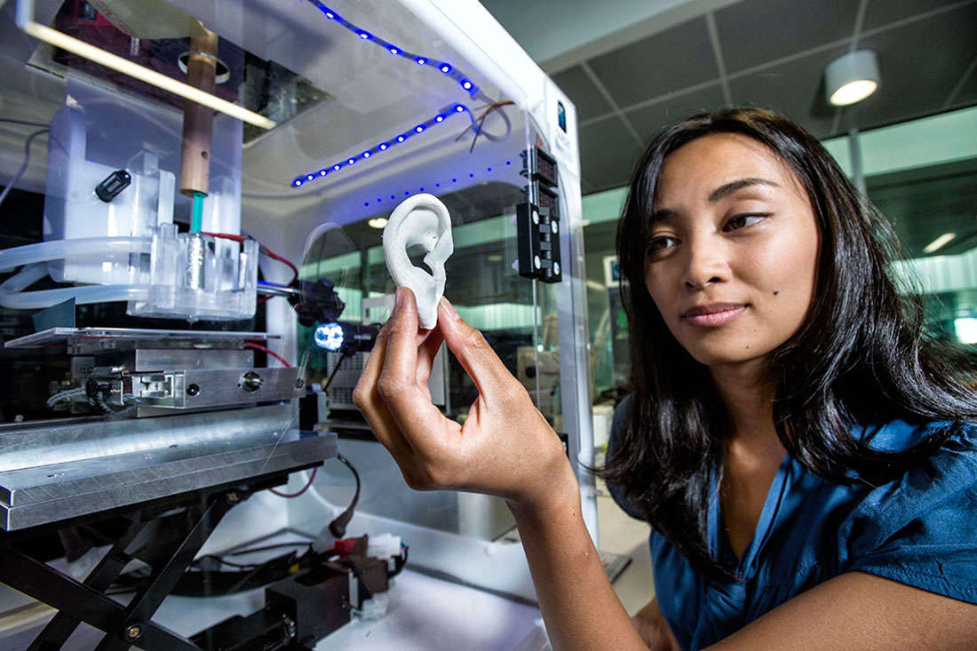 3D printing tissue facility in hospital