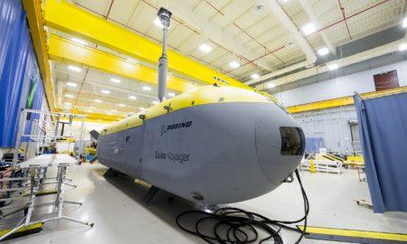 Echo Voyager Boeing underwater drones