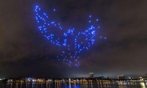 Disney Holiday Attraction Intel drones