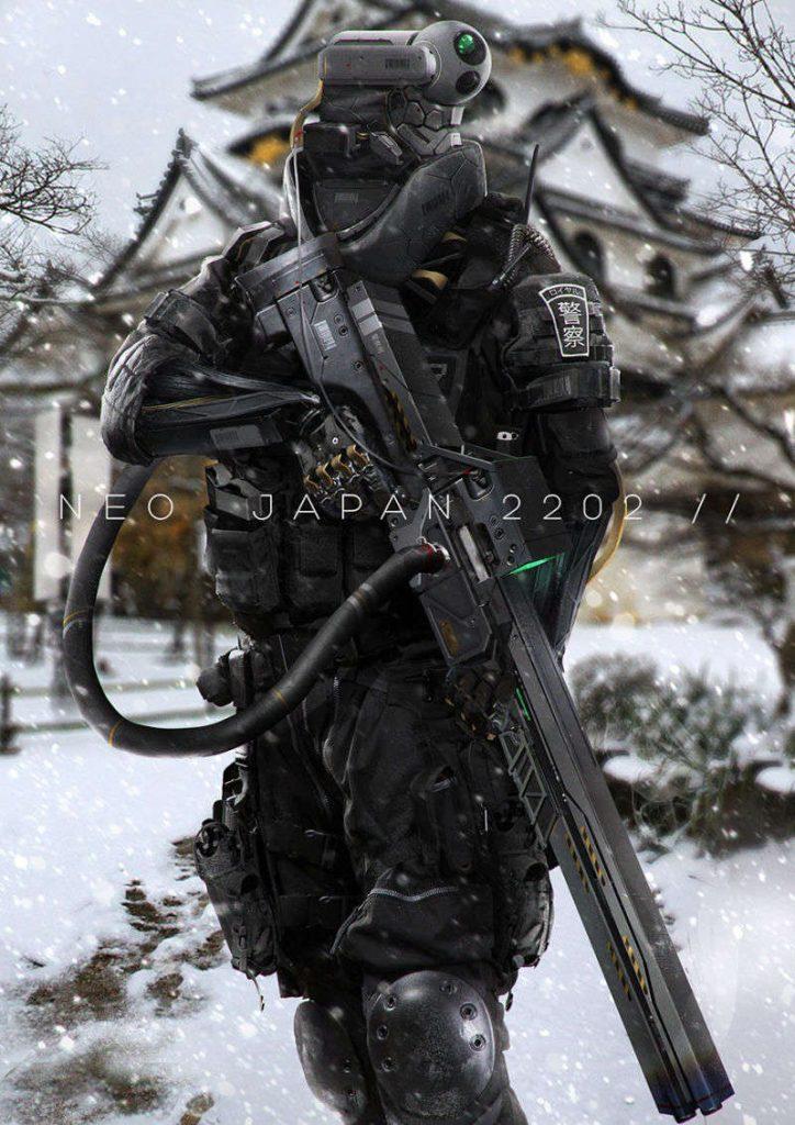 Soldier Future Photoshop