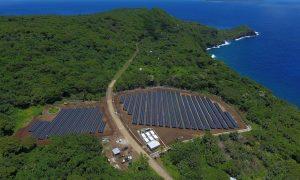 Tesla Solar Power Island