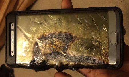 Samsung Galaxy Note 7 battery design flaw