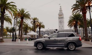 Uber self driving San Francisco