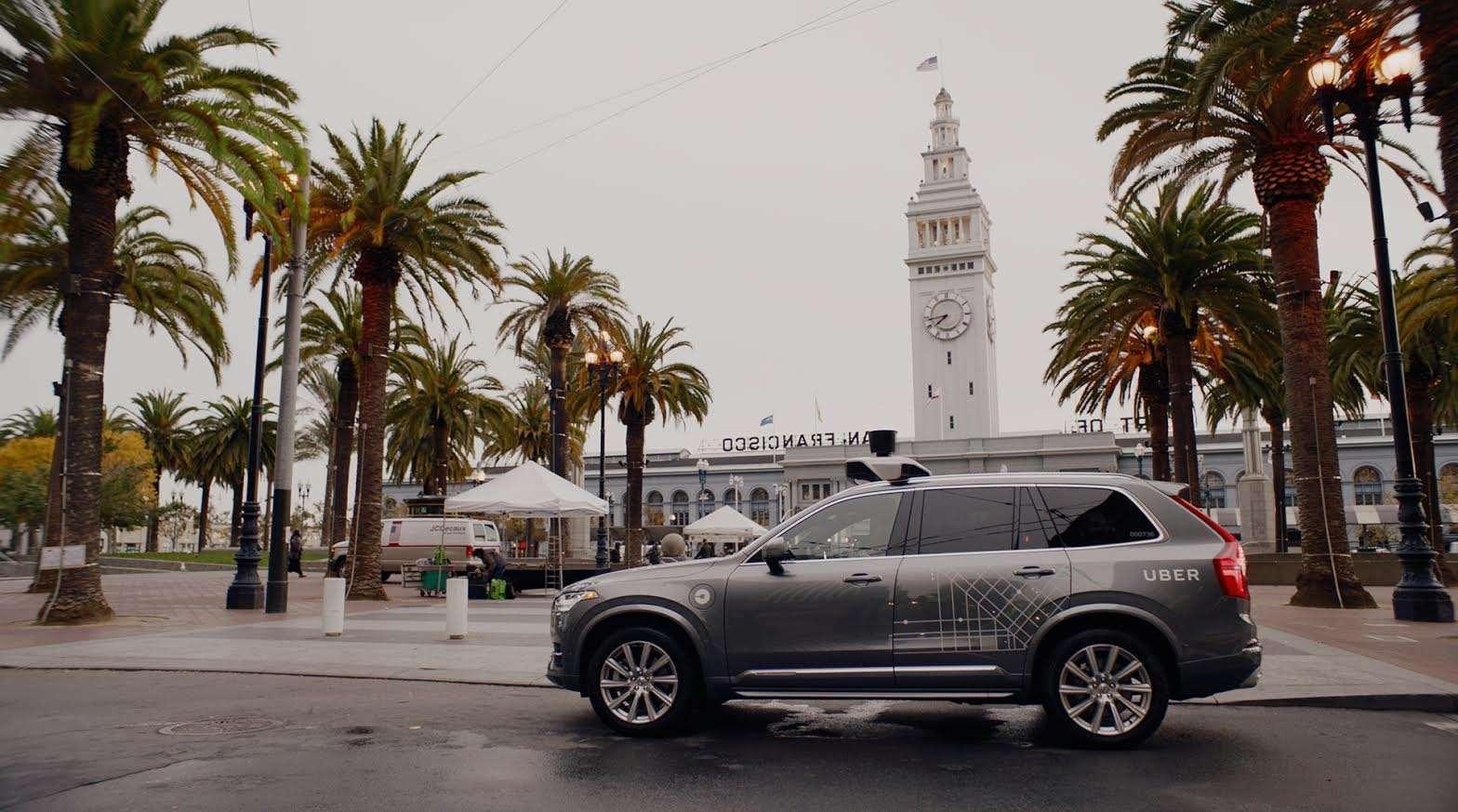 Uber self driving San Francisco