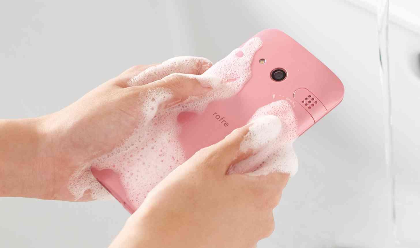 kyocera shower phone