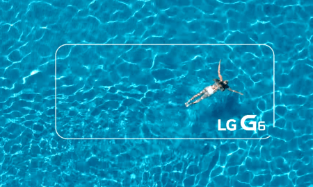 LG G6 water resistance