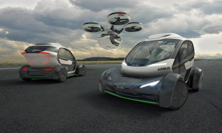 pop up flying car airbus