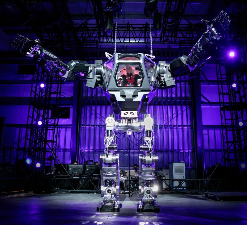 jeff bezos robotic suit