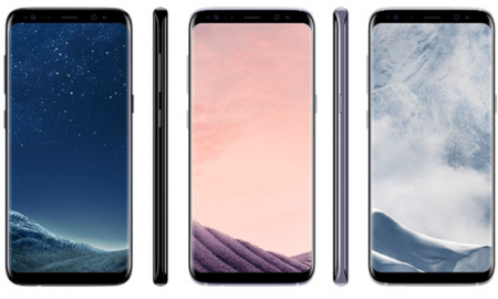 samsung galaxy s8 colors price