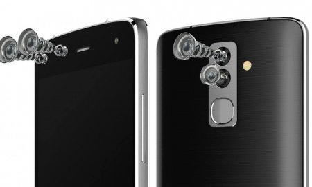 alcatel flash dual rear front cameras