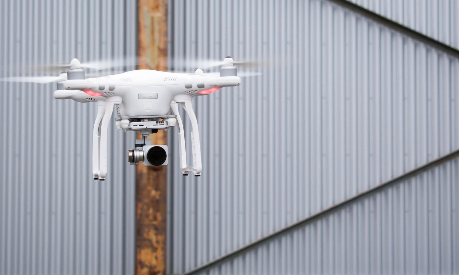 prison guards drone broom