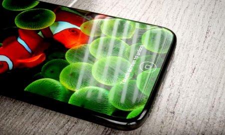 iphone 8 concept optical fingerprint scanner