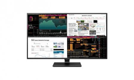 LG four displays monitor