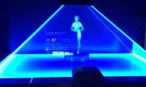microsoft cortana holographic body