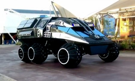 nasa batmobile mars rover