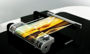 samsung stretchable rollout display concept