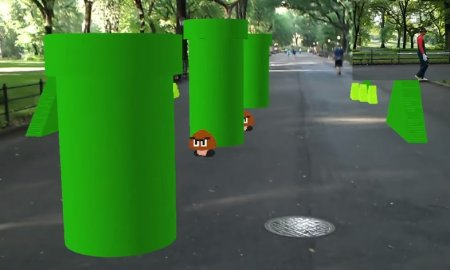 super mario bros augmented reality