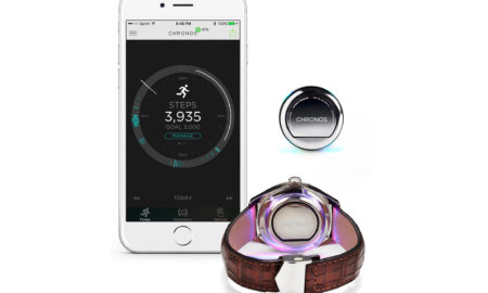 Chronos smart watch attachable disk