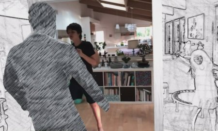augmented reality take on me a-ha music video ar app