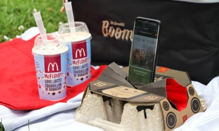 McDonalds Boombox a speaker amplifier for your smartphone