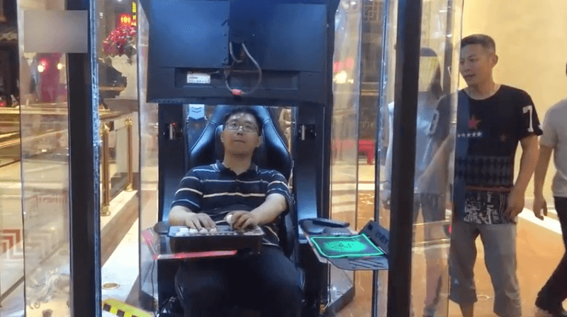 gaming booths