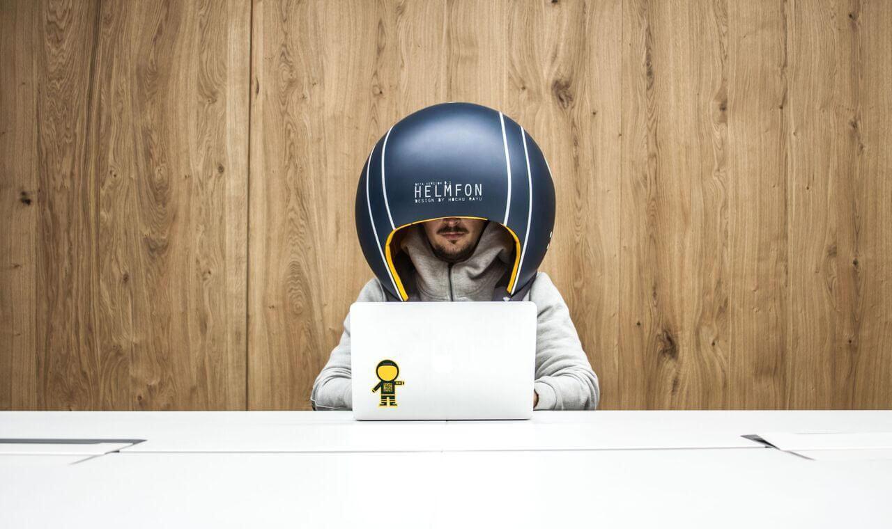 helmfon helmet